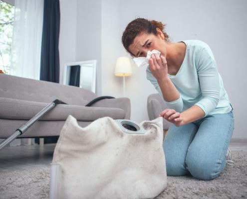 Respirare troppa polvere può essere pericoloso?