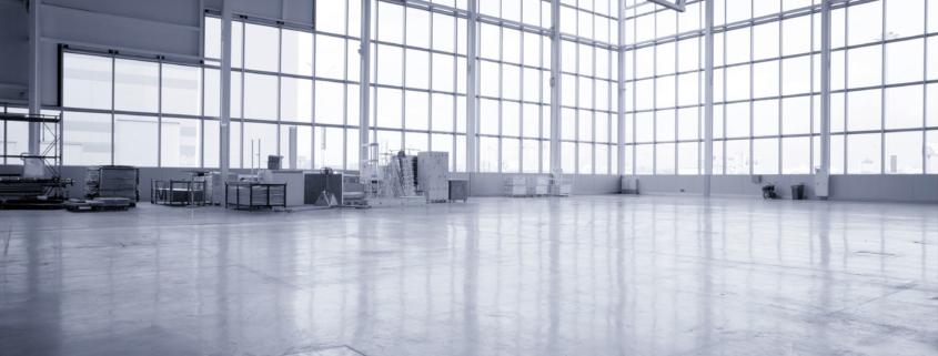 Pianificare la pulizia dei grandi spazi industriali