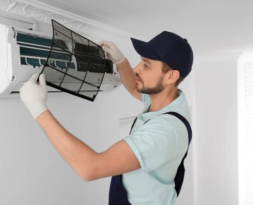 Impianto di condizionamento: pulizia a fine stagione