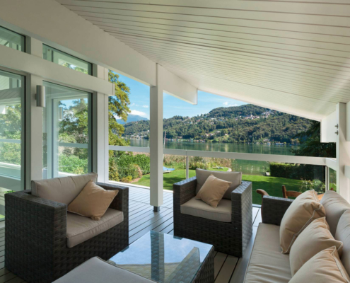 Come si pulisce una veranda?