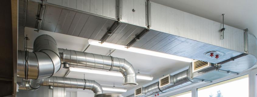 Pulizia degli impianti di ventilazione
