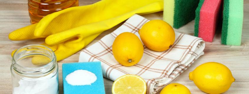 Pulizia con il limone