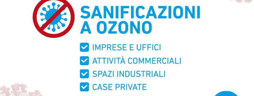sanificazione a ozono IMPRESA BIBO