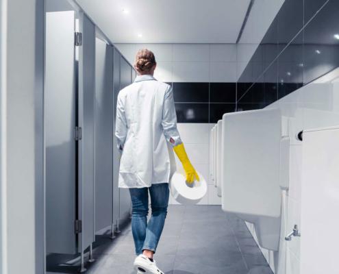 Fornitura di materiale igienico per aziende e attività commerciali