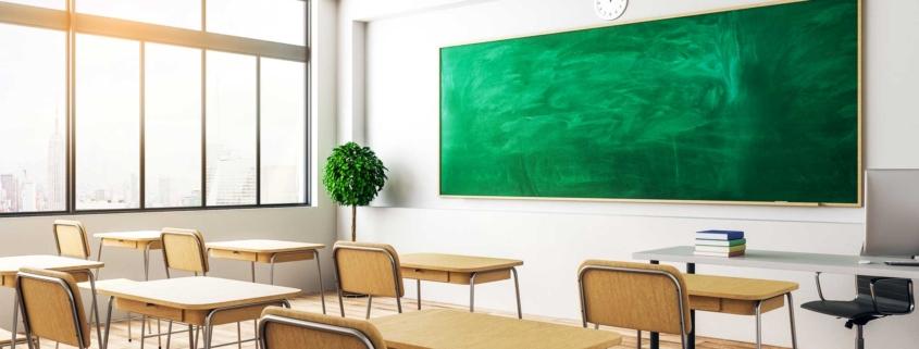 Chiusura scolastica? Approfitta per sanificare gli ambienti